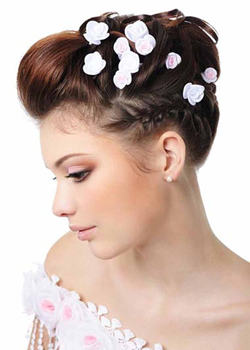 Wedding & Formal Hairstyles for fine hair